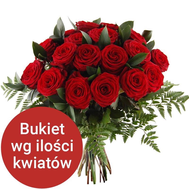 Bukiet 40 Roz Z Dostawa Do Domu Bukiet Na 40 Urodziny Niska Cena