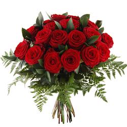 Bukiet 20 róż czerwonych