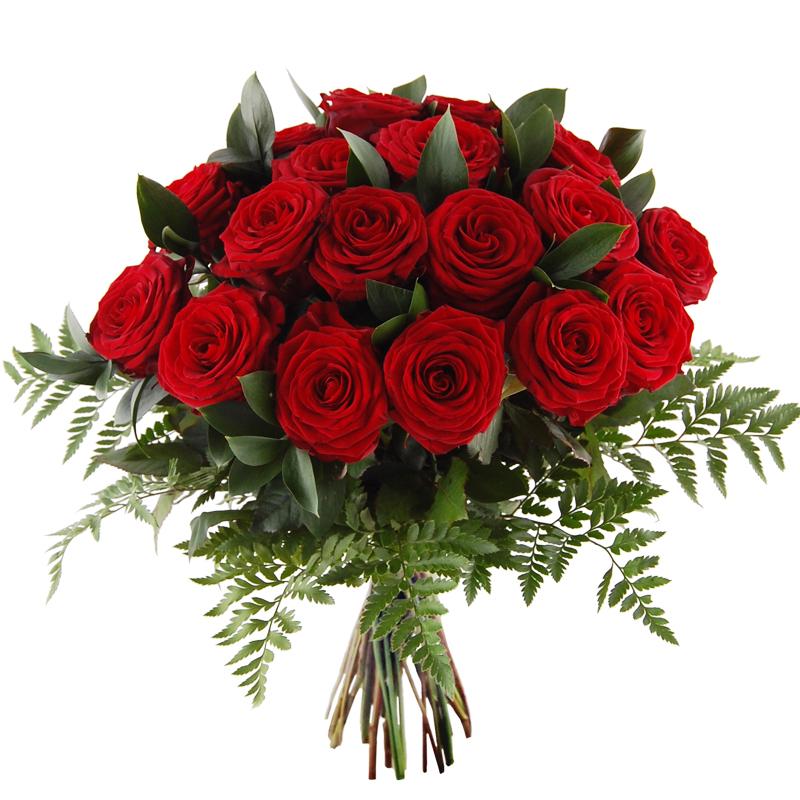 Bukiet 20 róż czerwonych Telekwiaciarnia
